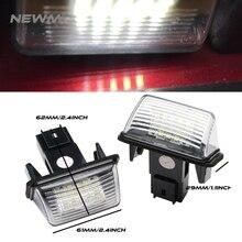 2 шт. для Toyota Yaris/Vitz Camry Corolla Prius C Ractis Verso S светодио дный номер лицензии плиты светодио дный лампа свет OEM заменить