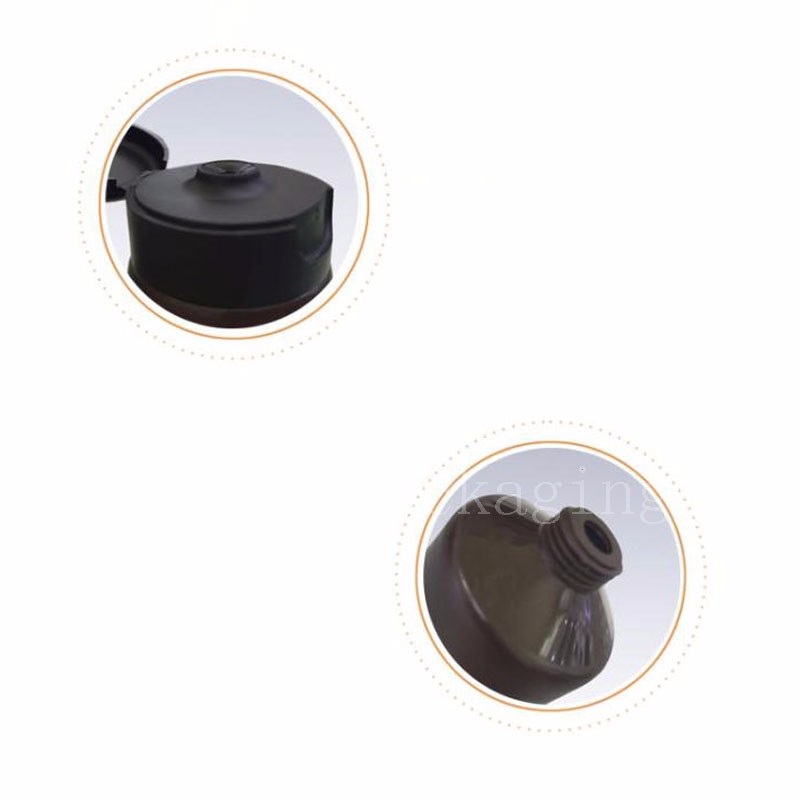 100g brown tube with flip top cap (2)