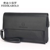 FEIDIKABOLO Famous Brand Men Wallets Male Leather Purse Men S Clutch Wallets Carteiras Billeteras Mujer Clutch