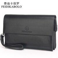 FEIDIKABOLO Famous Brand Men Wallets Male Leather Purse Men S Clutch Wallets Carteiras Billeteras Mujer Clutch