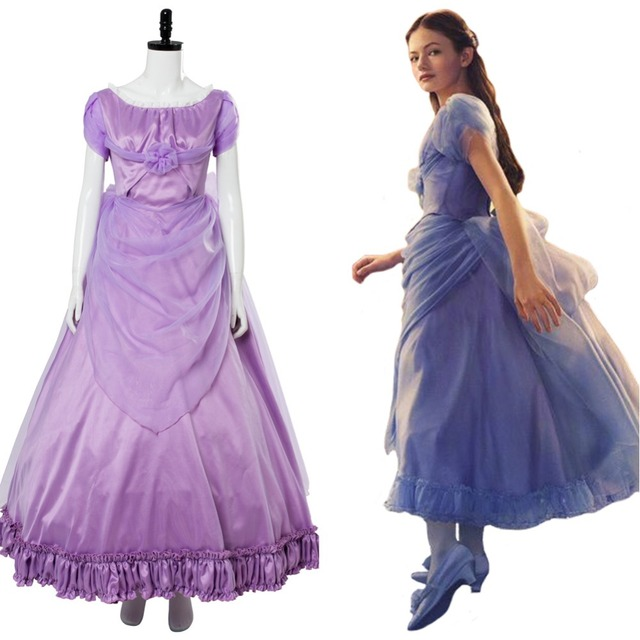 2018 Movie The Nutcracker and the Four Realms Cos Clara Cosplay Costume  Purple Dress Girl Halloween Carnival Costume Custom Made 1fc3a8ac5c71
