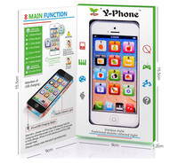 Fun Mini Y Phone Box Toys For Children Boys Kids Learning Electronic Vocal Toys Cartoon With