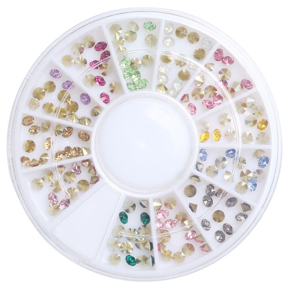 1Box(120Pcs) Acrylic Rhinestone For Needlework PointBack Cabochon Scrapbook Decoration Craft DIY Embellishments Accessories(China)