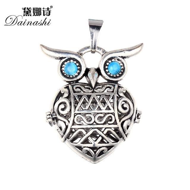 5pcslot mystical alloy owl hollow cage pendants 3042mm with any 5pcslot mystical alloy owl hollow cage pendants 3042mm with any size pearls aloadofball Choice Image