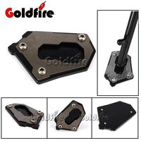 Motorcycle CNC Parking Side Kickstand Stand Extension Base Plate Parts For BMW R1200GS LC 2013 2016