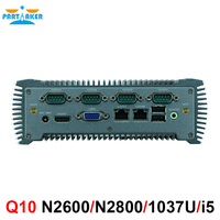 Industrial Computer Mini Computer With Intel Atom N2600/Intel Atom N2800 2*Intel 82583V Gigabit Ethernet