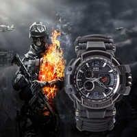 EDC Überleben Uhr Armband Wasserdicht 50 M Uhren Für Männer Frauen Camping Wandern Military Tactical Gear Outdoor Camping werkzeuge