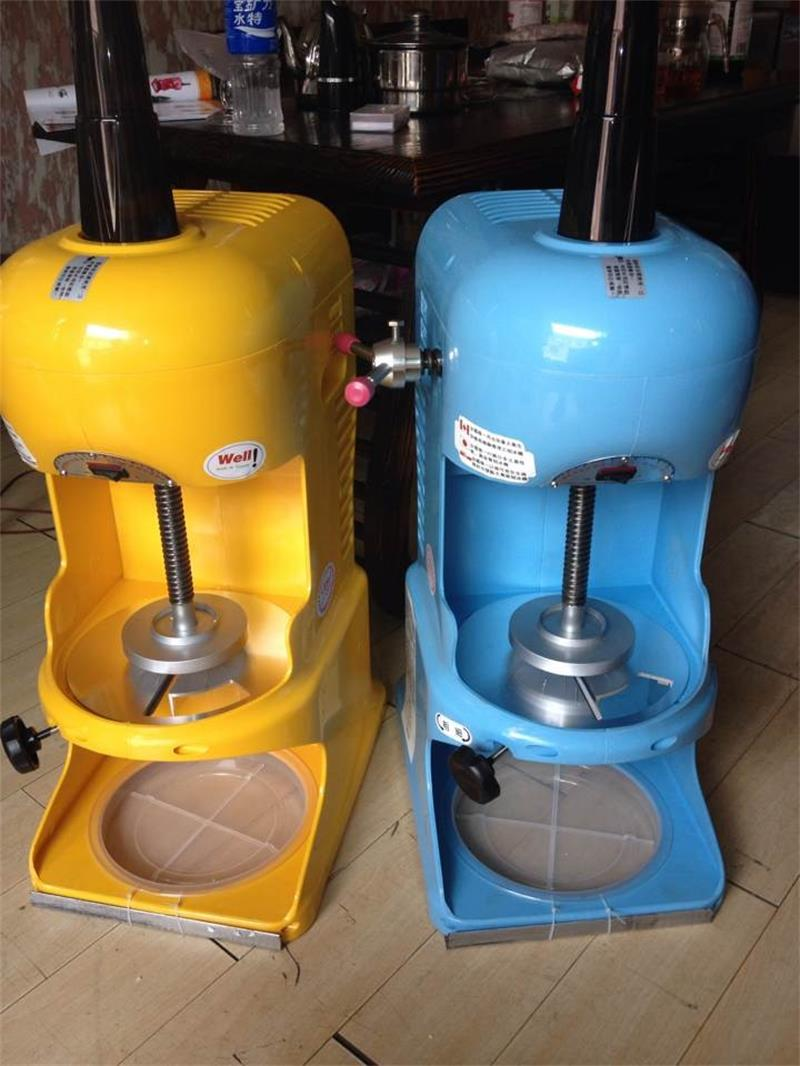 Snow Cone Ice Shaver Machine Taiwanese Shaved Ice Maker Block Ice Shaver Machine Electric