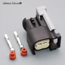 shhworldsea 5 10 30 50 100sets 2 Pin car auto Female Engine System EFI System