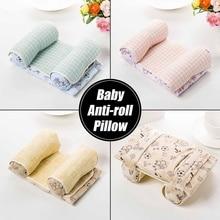 Soft Cotton Anti Roll Pillow Baby Toddler Infant Newborn Safe Sleep Positioner Cushion Prevent Flat Head