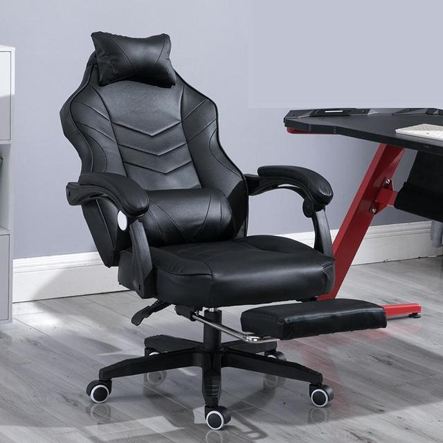 Gaming Chair Electrified Internet Cafe Pink Armchair High Back Computer Office Furniture Executive Desk Chairs Recliner 1