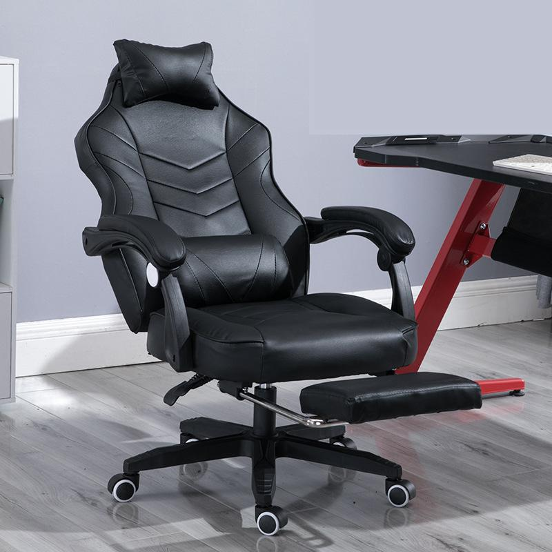 Image 2 - Gaming Chair Electrified Internet Cafe Pink Armchair High Back Computer Office Furniture Executive Desk Chairs Recliner-in Office Chairs from Furniture