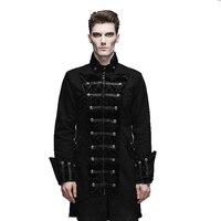 Новый стимпанк готический долго Англии Стиль плащ пыльник cultivate One's morality мужской куртки пиджаки суд Банкетный Мужчины плащ