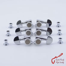 Genuine Original  L3+R3  GOTOH SG381-20-MGT Guitar Locking Machine Heads Tuners  ( Chrome ) MADE IN JAPAN