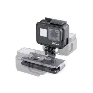 Image 2 - In Stcok PGYTECH For DJI OMSO Pocket 2 Action Camera Strap Holder L Bracket Rotatable Mount For OSMO POCKET Handheld Gimbal