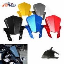 New   Motorcycle Motorbike Windshield Windscreen Aluminum For Yamaha  MT07 MT-07 2014 2015
