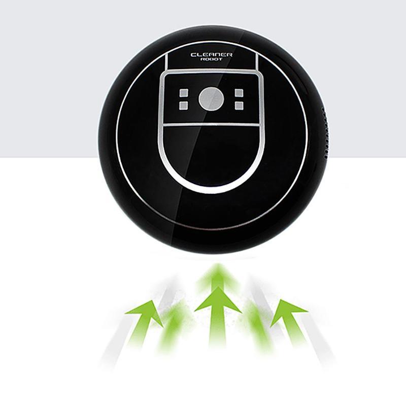 Limpiador automático para el hogar Robot microfibra inteligente robótico fregona esquinas de suelo limpiador de polvo aspiradora 2 colores Envío Directo