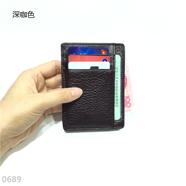 Купить с кэшбэком Gibo Auja Brand New Genuine Leather Wallet, card case, credit card holder, wallet,Organizer Short Travel,freeshipping