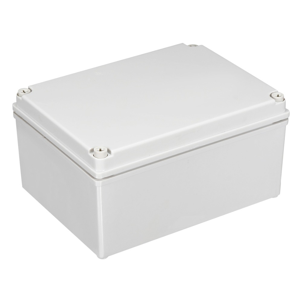 Uxcell Promotion! 1pcs Plastic Outdoor Junction Box Waterproof Enclosure Box Housing DIY Electronic Project Instrument Case BoxUxcell Promotion! 1pcs Plastic Outdoor Junction Box Waterproof Enclosure Box Housing DIY Electronic Project Instrument Case Box