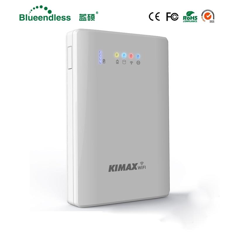 4000 mah Powerbank 2.5 Hdd avec Sata USB 3.0 externe HDD Cas Wifi Routeur Wifi Répéteur HDD externe logement