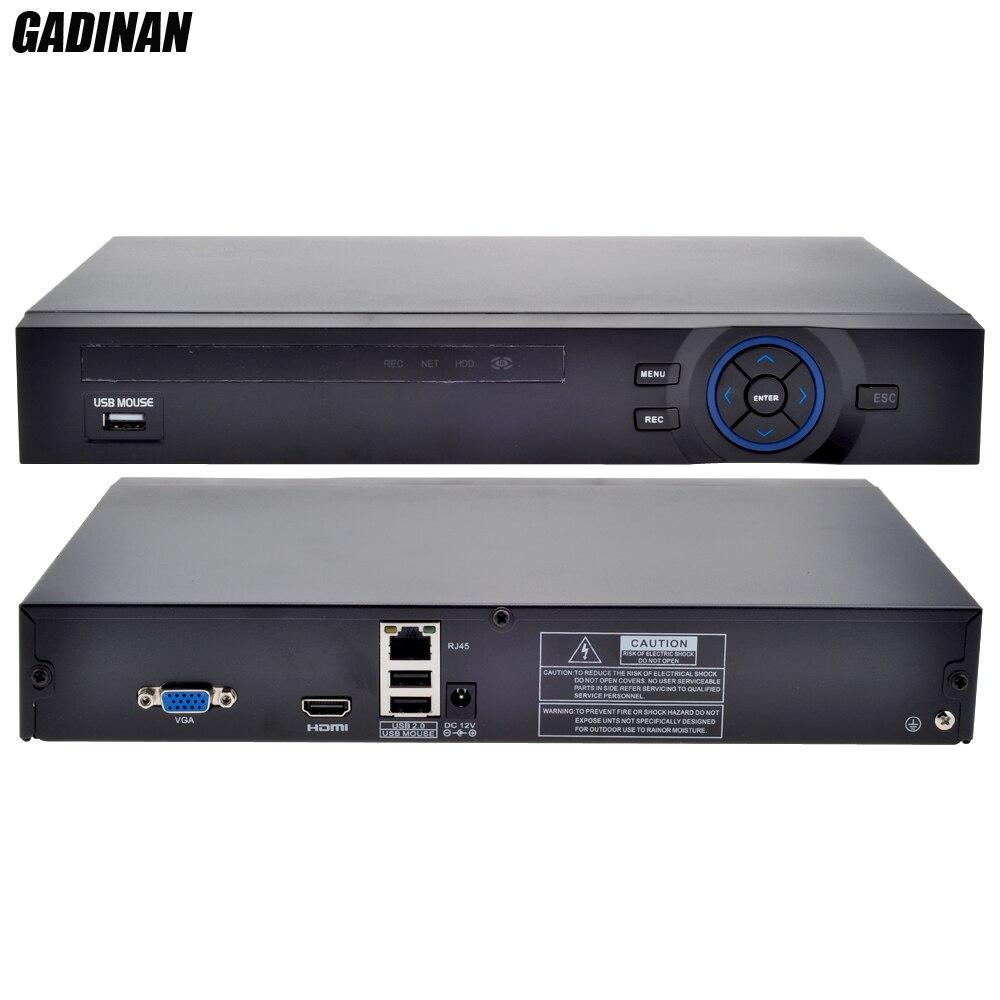 GADINAN 8CH 1080P or 12CH 960P NVR H.264 for IP 2MP 1.3MP 1MP CCTV P2P Video Recorder Netwerk Support 2HDD Ports HDMI FTP Alarm gadinan full hd 4ch 1080p nvr or 8ch 960p nvr for 1080p 960p 720p ip camera onvif h 264 hdmi netwerk video recorder 1hdd port