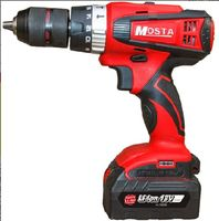 MOSTA LT8018TB 18V LED Cordless battery screwdriver Multi function rechargeable impact drill cordless screwdriver Power Tools