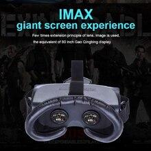 ใหม่ไร้สายกว้างเสมือน80นิ้ว2D3D VRแว่นตาเสมือนจริง1080จุดlสำหรับภาพยนตร์เกม3D HMD-518 3Dส่วนตัวมือถือโรงละคร