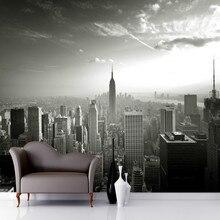 Mural Empire State Skyline Tapete Foto 3d Wallpaper Fotowand Fr Wohnzimmer