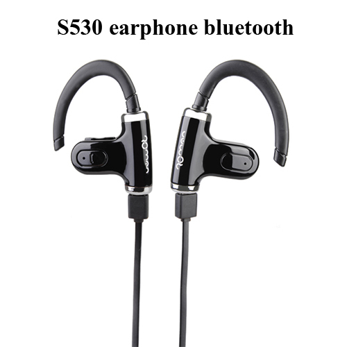 ROMAN S530 Sport Bluetooth V4.0 Single / Double Sport Earphone Headset headphone Microphone For iPhone Samsung free shipping