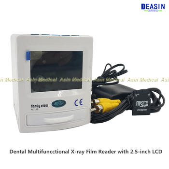 NEW MLG Dental Multifuncctional X-ray Film Reader with 2.5-inch LCD M-188