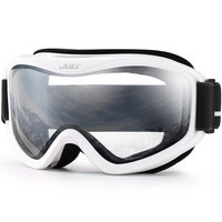 Snow Goggles Winter Snow Sports Snowboard Over Glasses Goggles With Anti Fog UV Protection Double Lens
