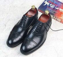 Homens dos pés redondos sólida respirável negócio esculpido lace up verão brezathable vestido sapatos masculinos sapatos de fundo grosso frete grátis