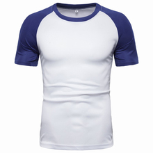 2019 Summer Hot Sale T-Shirt Men Business Casual Teen Solid Slim Fit Short Sleeve T Shirts Lovers Women/Men Top Tees