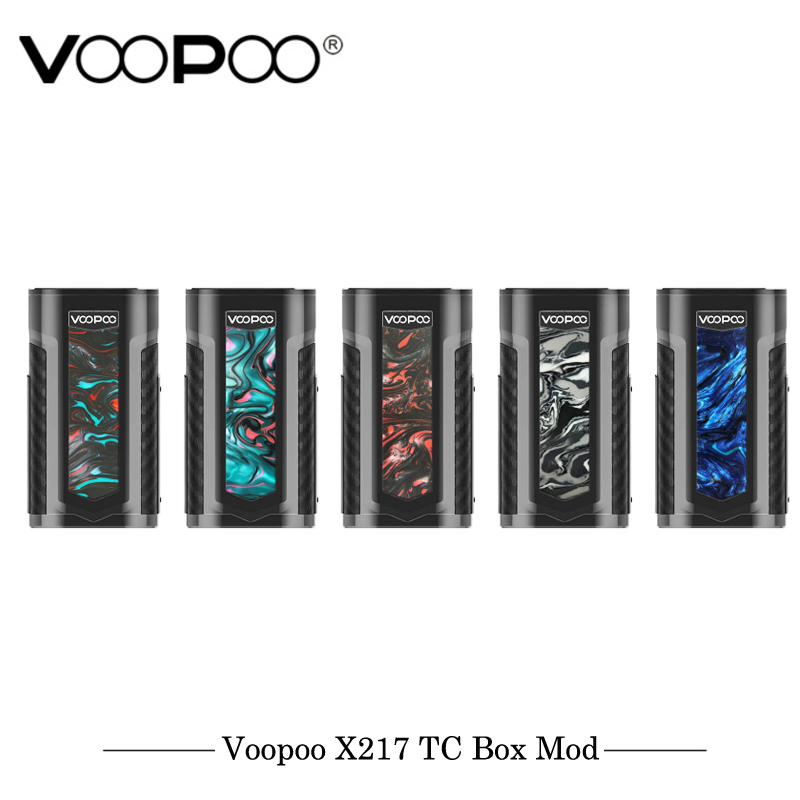 Original VOOPOO X217 TC boîte Mod Cigarette électronique Mod gène. ventilateur puce TFT IPS HD écran Fit 21700 20700 18650 VS iJOY PD270