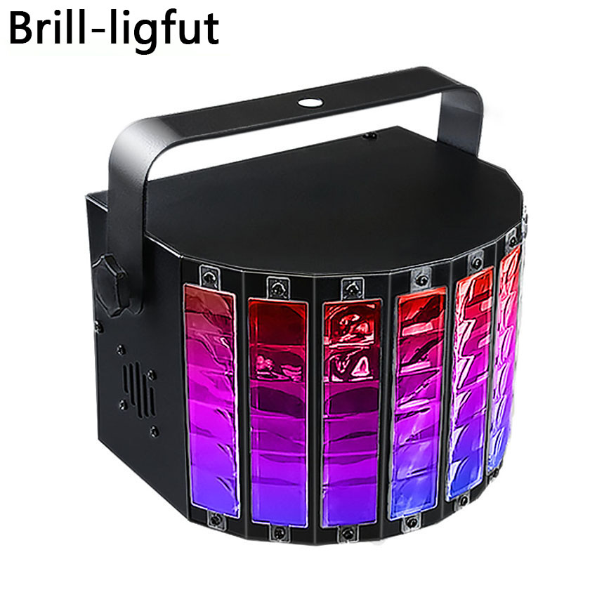 9 Color Bluetooth play music LED Stage Light Sound Activated dj ktv disco lights birthday holiday
