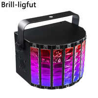9 Color Bluetooth play music LED Stage Light Sound Activated dj ktv disco lights birthday holiday Christmas party effect lights