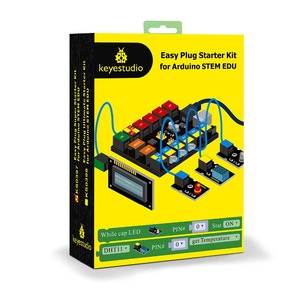 Image 5 - Keyestudio EASY PLUG RJ11 Super Starter  Learning Kit For Arduino STEM EDU/Compatible With Mixly  Block Coding