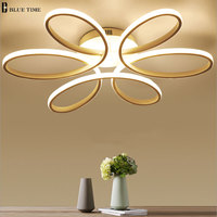 NEW Modern LED Chandeliers For Living Room Bbedroom Dining Room Fixture Chandelier Ceiling Lamp Dimming Home
