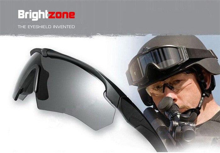 Brightzone NOS Óculos de Proteção Militar, Óculos Polarizados Balísticos 3,  4 ou 5 Lentes, óculos De Sol com Logotipo Original dos homens do exército  Tático ... 7301fc3071