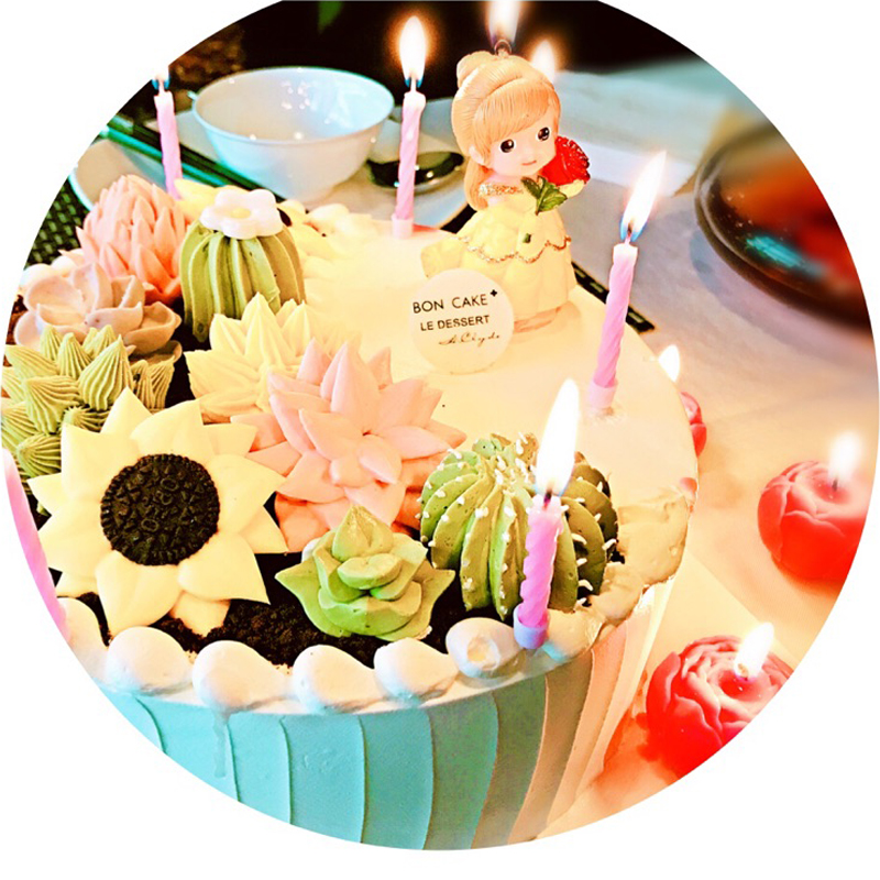 Kawaii Birthday Candle Children Baby Loveliness Candles For Cake