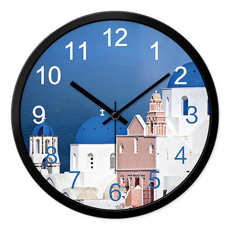 Mute European Mediterranean Wall Clock Creative Large Watch Big Digital Wall Clock Modern Design Duvar Saatleri Clocks 50A0139Mute European Mediterranean Wall Clock Creative Large Watch Big Digital Wall Clock Modern Design Duvar Saatleri Clocks 50A0139