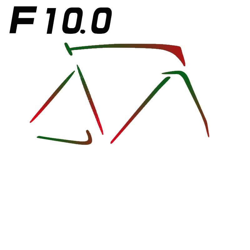 F100 carbon fiber frame road bike frame V kill 3K 1K gloss matte aerofit ft mb 1k v
