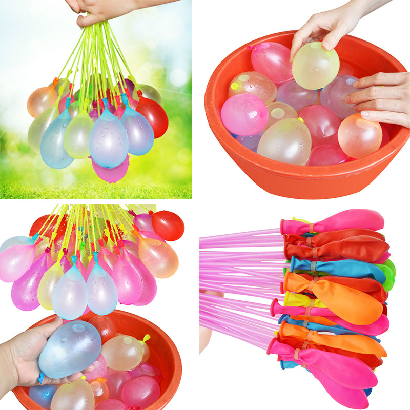 купить 555pcs/pack Filling Water Balloons Novelty Gag Toys Funny Toy Magic Balloon Water Balloons Bunch Bombs Bunch Summer Outdoor Toys по цене 690.85 рублей
