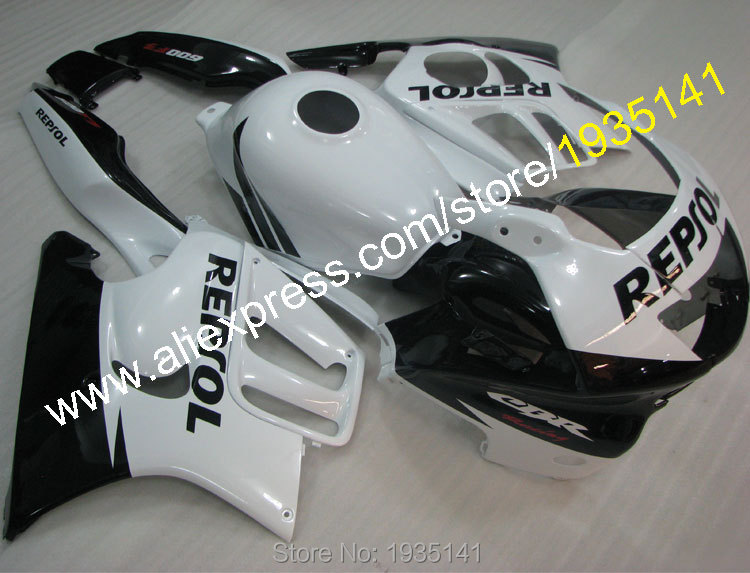 Hot Sales,For Honda CBR600F3 1995-1996 CBR 600 F3 95-96 CBR600 F3 Repsol Aftermarket Motorcycle Fairing Kit (Injection molding) hot sales cbr 1100 xx 96 07 body kit for honda cbr1100xx 1100 blackbird 1996 2007 blue motorcycle fairings injection molding