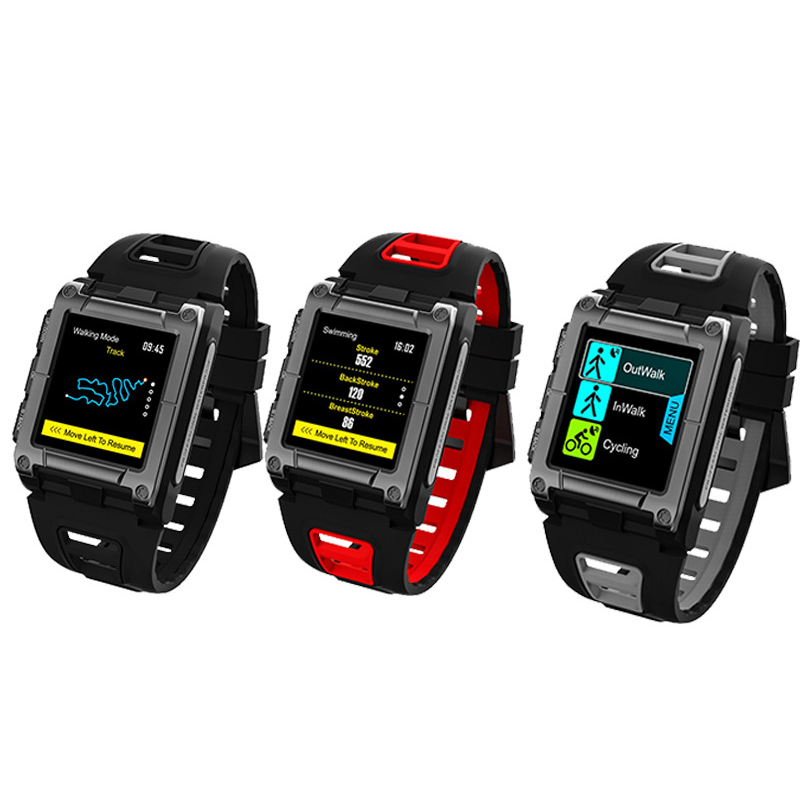 FORCA S929 GPS Sport IP68 Waterproof Swimming Smart Watch Heart Rate Monitor Thermometer Altimeter Color Screen Smartwatch szmdc s929 gps sport ip68 waterproof swimming smart watch heart rate monitor thermometer altimeter color screen smartwatch