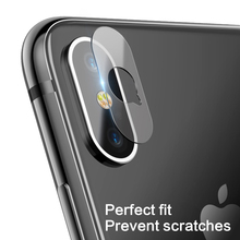 For Apple iPhone X XS XR Max Back Camera Lens Screen Protector Tempered Glass Film 8 7 6 6s Plus