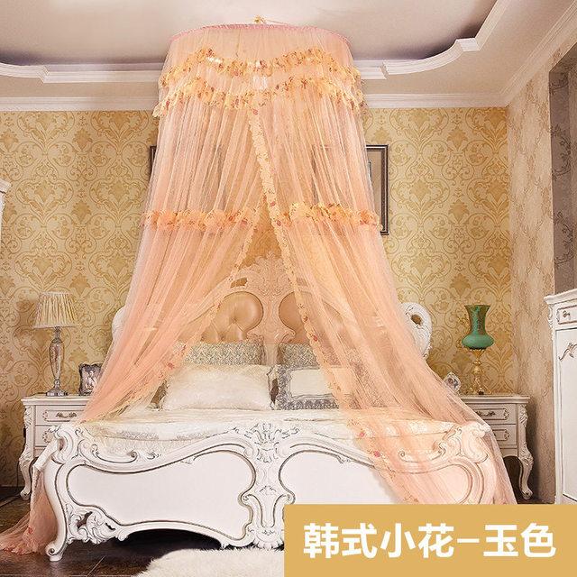 Stile coreano Hung Dome Zanzariera per Letto Matrimoniale Multa rete ...