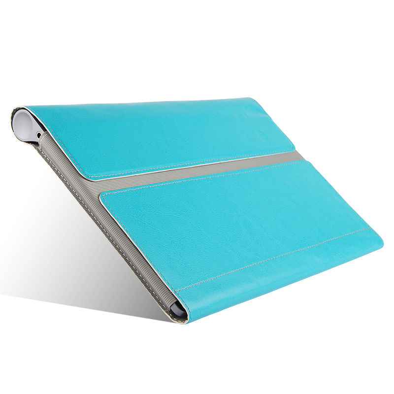Lenovo Yoga Tab kaitseümbris 3 8 Kaitsev Smart kate nahast tablett - Tahvelarvutite tarvikud - Foto 4