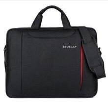 Sac à bandoulière pour ordinateur portable zeuslam 11 12 13.3 14.1 15.4 15.6 sac à main pour ordinateur portable en Nylon étanche pour Dell 14 15.6 pochette dordinateur