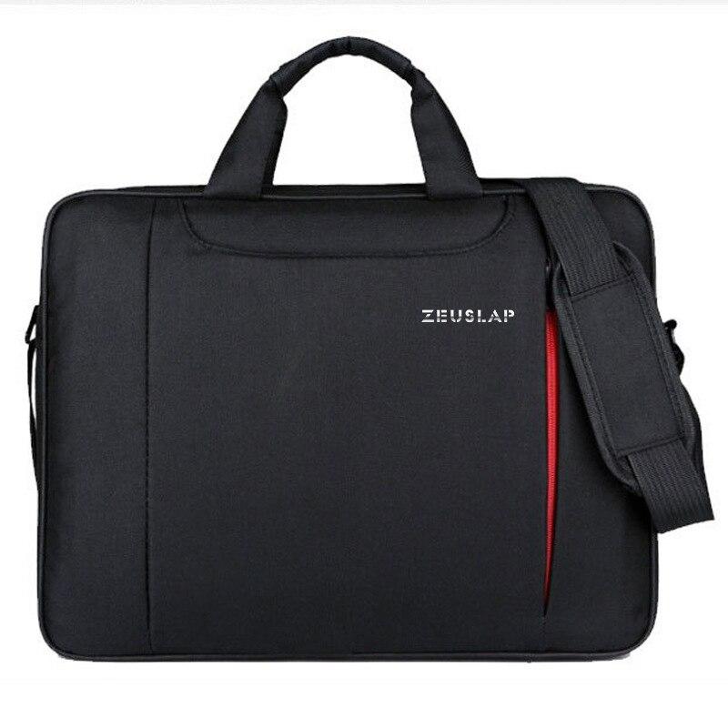 ZEUSLAP Laptop Shoulder Bag 11 12 13.3 14.1 15.4 15.6 Waterproof Nylon Notebook Messenger Hand Bag for Dell 14 15.6 Laptop Bag
